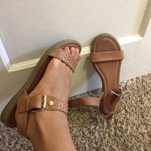 White Mountain Shoes - White Mountain 9M Women's Sandals Brown